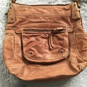Preloved Fossil Leather Purse